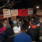 Protest na Radiowie trwa